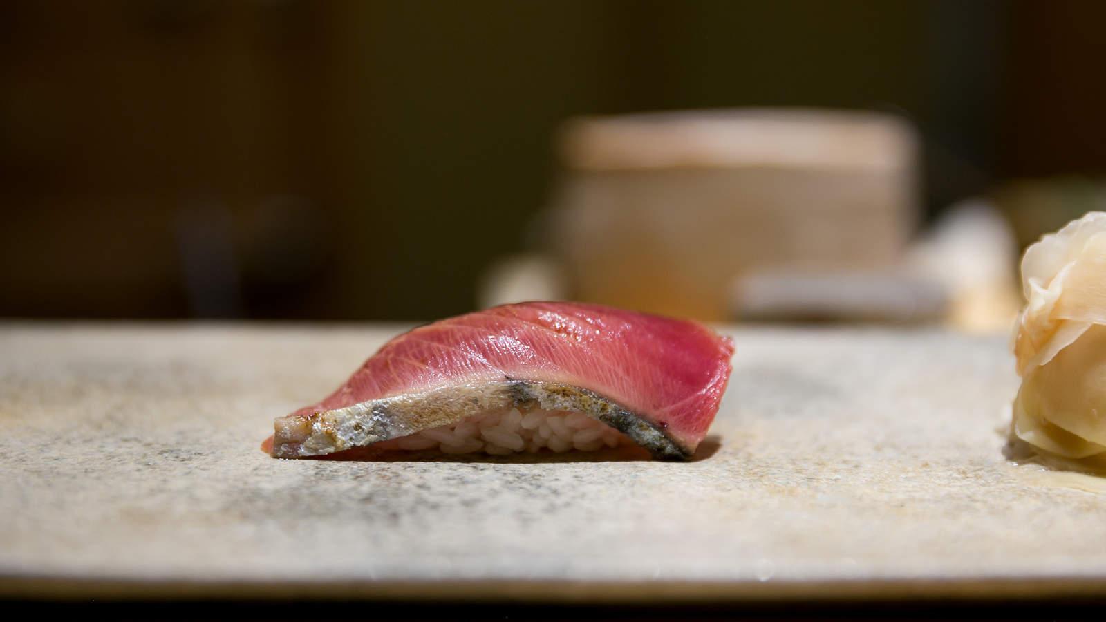 Katsuo Sushi, 鰹 (Skipjack Tuna)