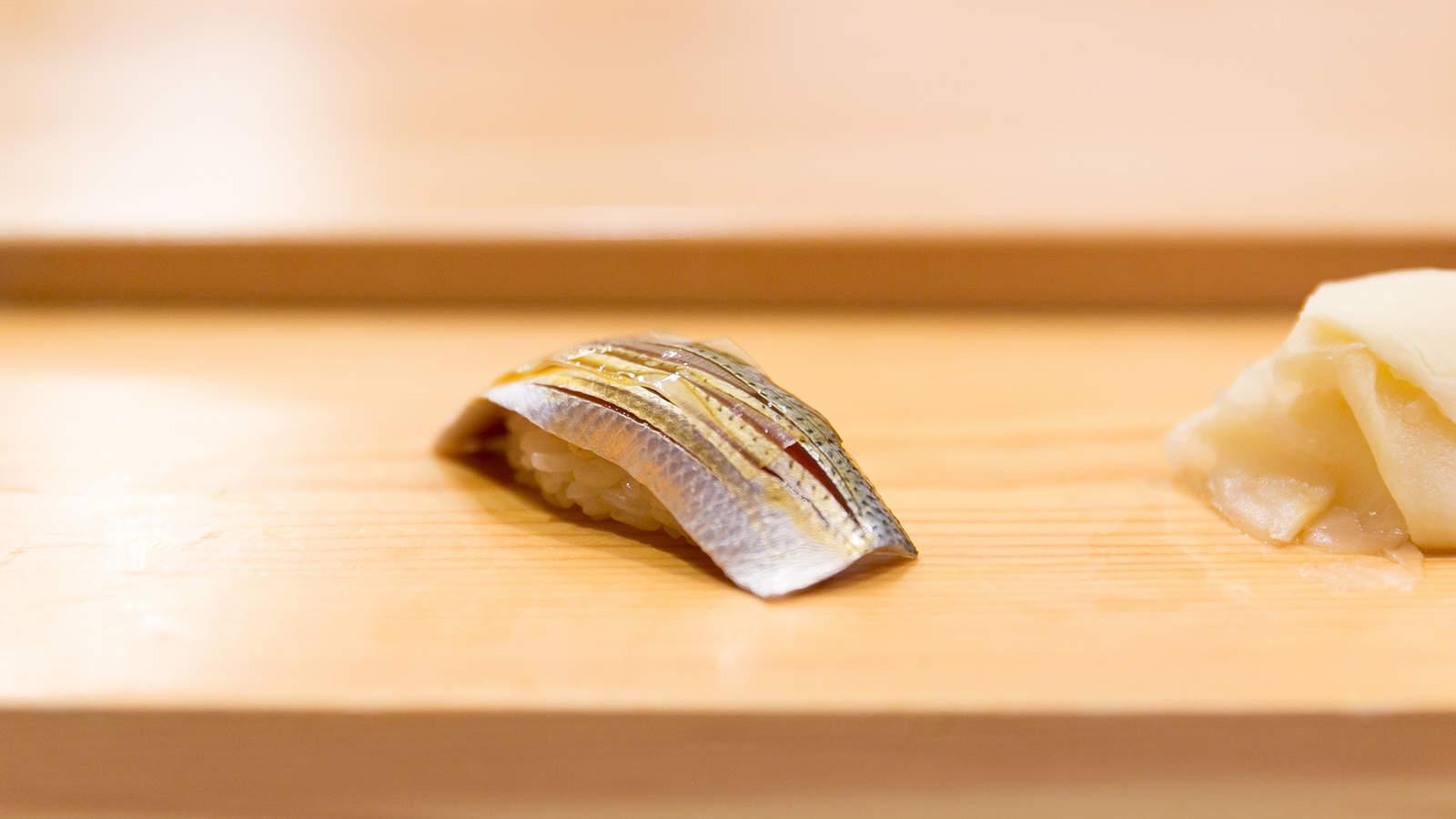 Kohada Sushi, コハダ (Gizzard Shad)