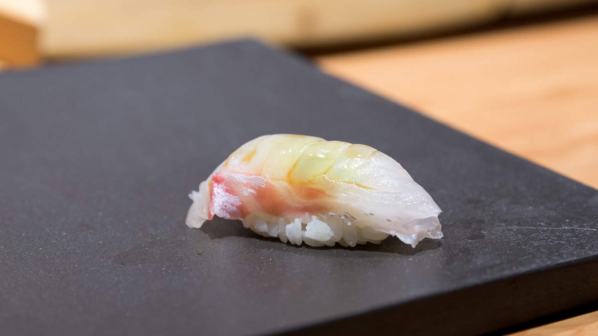 Tai Sushi, 鯛 (Japanese Sea Bream)