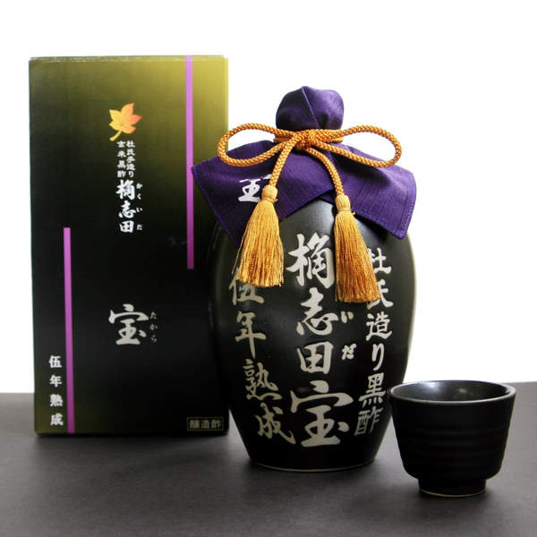 Ultra-Premium Black Kakuida Vinegar